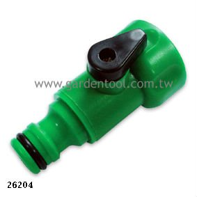Plastic One Way Garden Hose Shut-Off Valve