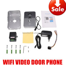 720P Single Streaming Smart Home Security Wifi smart security camera video door bell wireless