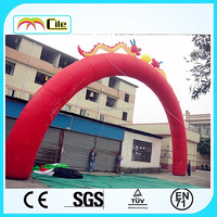 CILE inflatable dragon arch