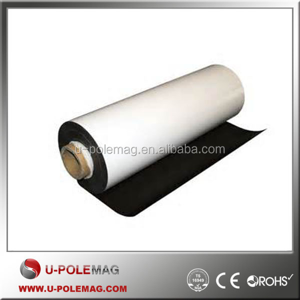 flexible rubber magnet sheet with PVC/ printing paper