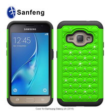 led pc combo sublimation cell phone case for samsung J1(2016) J120F J120H J120M