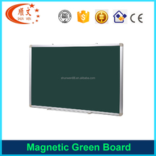 2017 new style educational magnetic green chalk black board for school