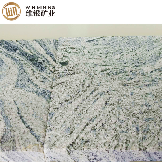 Grey Color Granite Flamed Surface Slabs Wholesale