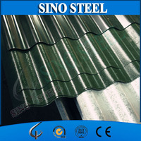 Ral Color prepainted galvanized corrugated metal roofing tiles