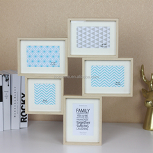 chinese good frame wall mount photo frame 5 frames