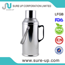 coffee pour over stainless steel thermos wtith glass inner