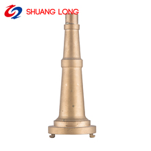 Fast delivery fire hose nozzle 65mm fog fighting water nozzles with good quality