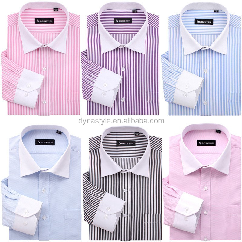 Latest Style Custom Dress Shirt Men