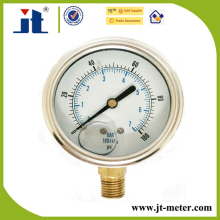 Mechnical Gauges Glycerine Or Silicone Oil Filled Pressure Gauge
