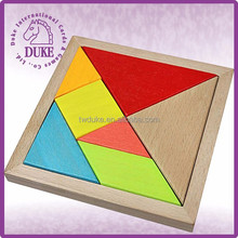 HOT ITEMS Educational toy & classic puzzle wooden tangram
