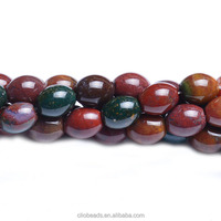 The Hot sale loose beads CB38212 India Bloodstone Rice Beads
