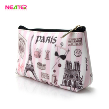 Wholesale Promotion Fashion Professional Cosmetics Plain Makeup Bag Design