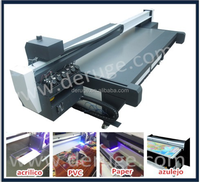 Glass/wood/ceramic/tiles printing multi-functional best uv flatbed printer price