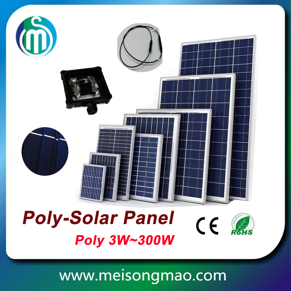 High quality solar panel price 15W PV panel poly solar module