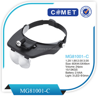 Professional light head magnifying glass,head magnifying glass(MG81001-C)