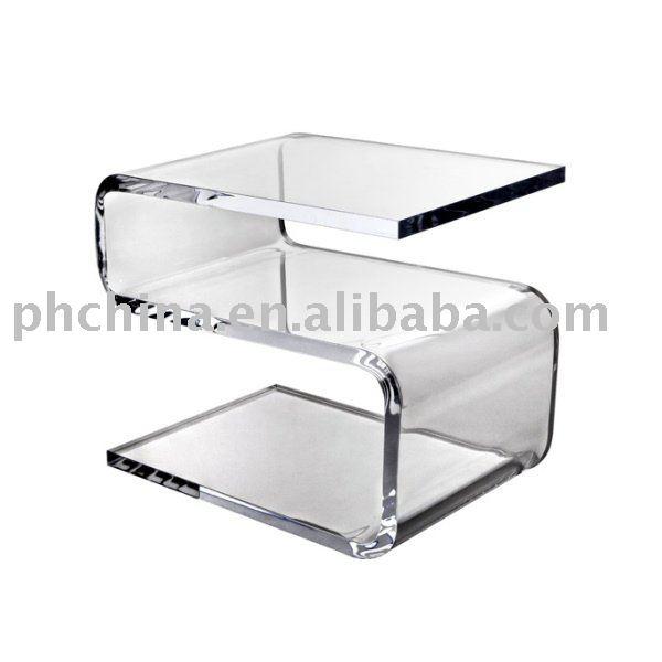 Acrilico trasparente susie tavolo acrilico trasparente - Mobili in plexiglass ...