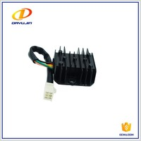 Cheap Wholesale Chinese Motorcycle Spare Parts Motorcycle Voltage Regulator 12v Rectifier FXD 125 5 Lines