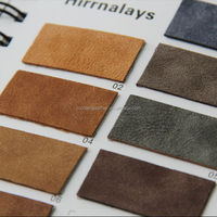 High Grade Suede Pu Leather For
