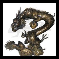 high quality japanese dragon statues