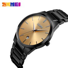 Sliver dial stainless steel custom made watches