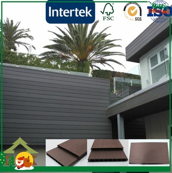 decorative outdoor new material wpc wall screen