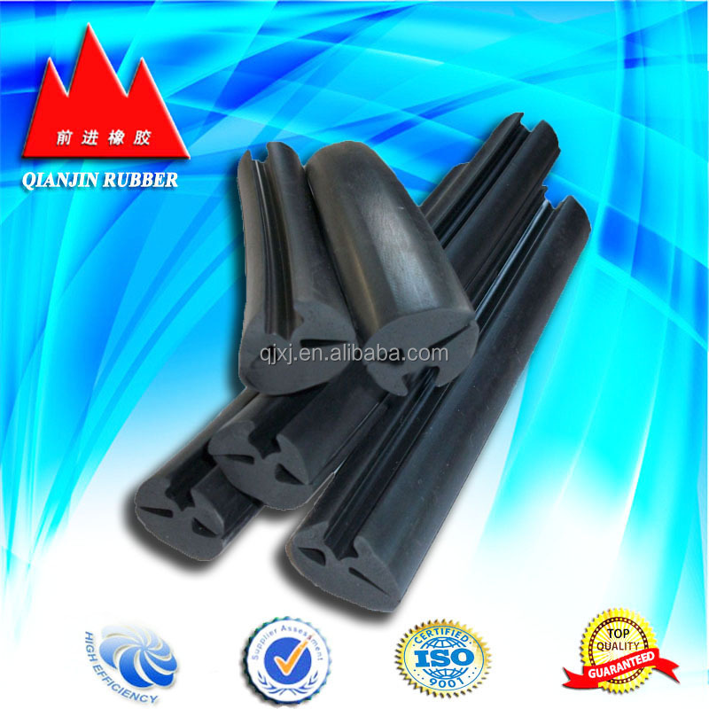 Glass sealing rubber strip