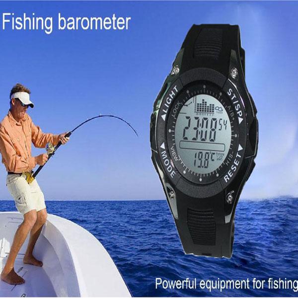 лучшие часы для рыбалки с барометром