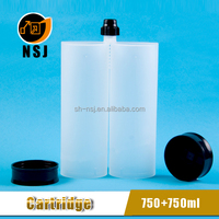 1500ml Two Component Empty Cartridge for Silicone Sealant