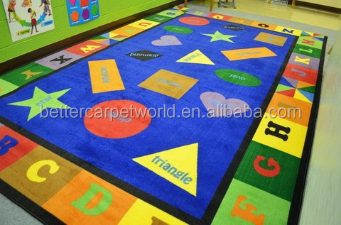 Star,moon,sun triangle,square,round,all kinds of shape handtufted carpet,children's rug