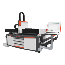 500W stainless, carbon ,brass Galvanized plate and tube stencil fiber laser cutting machine