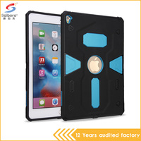 2016 Fancy product cheap pc with tpu combo anti shock protective tablet case for iPad pro 9.7