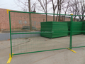 6ft Height Canada Construction Zone Fence Panel Secure Temporary Fence