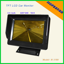 3.5' 12V car lcd monitor with cheap price&high quality