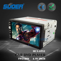 Touch Screen 2 Din Car Radio Video GPS DVD Player Car DVD Player with Bluetooth