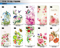 UHOMAX Wholesale High Quality OEM TPU Rose Flower Back Cover For Iphone 6/6 plus