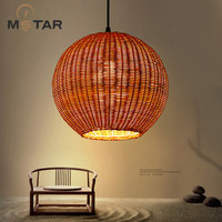 Hot Fashion Droplight Vintage Rattan Lamp