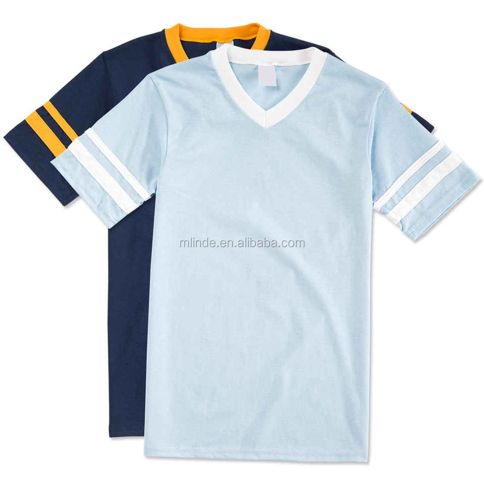 T Shirt Sport Double Sleeves Stripe Jersey T-shirt Baseball Tee Shirts Wholesale Uniforms