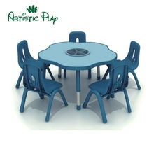 Cheap price high quality school kindergarten children's round tables and chairs