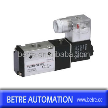 Airtac Type Pneumatic Solenoid Vave / Directional Control Valve ...