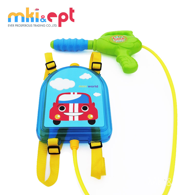 Transparent Water Gun Backpack For Boys