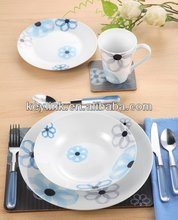 Super quality best sell opal ware dinner sets