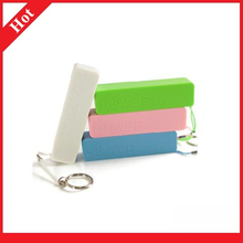 smart, slim 2200mAh with Keychain and colorful Power Bank