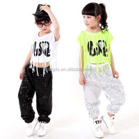 2016 Children Stage Performance Wear Modern Dancing Kids Boys Girls Jazz Hip Hop jazz dance Costumes fashion sequins wholesale