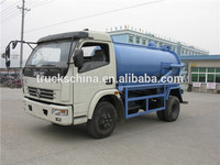China suppliers sewage suction truck vacuum tank trucks for sale