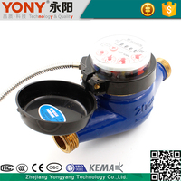 Easy To Replace Quota Use Volume irrigation remote reading water meter