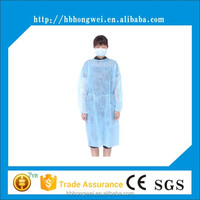 High quality Nonwoven dental disposable gown