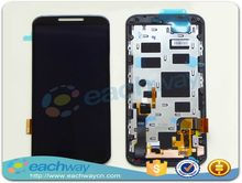 Original For Motorola MOTO X+1 X2 XT1092 XT1095 XT1096 XT1097 2nd LCD Display Touch Screen Digitizer Assembly with frame