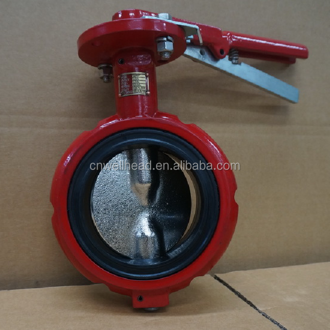 CAMERON DEMCO LEVER OPERATED WAFER TYPE MANUAL BUTTERFLY VALVE/NE-D MANUAL HANDLE OPERATED BUTTERFLY VALVE DN50-DN300
