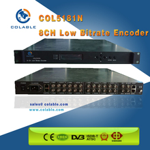 COL5181N 8 CVBS Composite Video Encoder & Mux to IP output