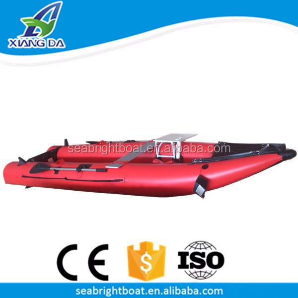 CE Certification and PVC Hull Material Best 2 Person Kayak Inflatable Float Tube Fishing Boat 9ft with Prices